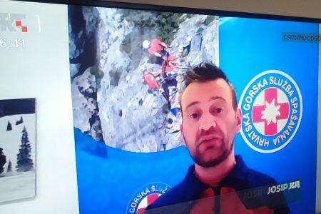 LIJEPO: Pročelnik gospićkog HGSS-a Josip Brozičević gostovao u emisiji Dobro jutro Hrvatska!
