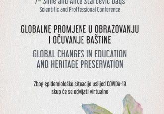 Danas virtualno izdanje znanstveno-stručnog skupa Dani Šime i Ante Starčevića