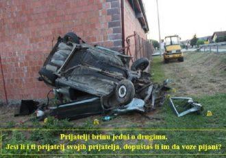 Jučer je netko pio i vozio,a netko brzo vozio