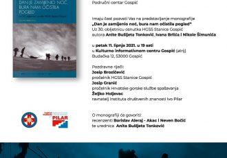 LIJEPO: Predstavljanje monografije o 30 godina gospićke stanice HGSS-a!!!