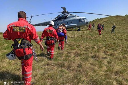 BRAVO: gospićki gorski spašavatelji i danas u uspješnoj akciji