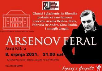 """Ne propustite glazbeno-poetsku večer """"Arsenov feral"""""""