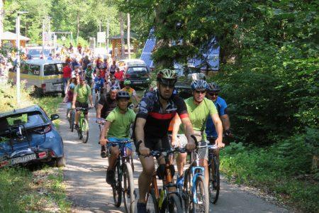 Odličan odaziv sudionika na Biciklijadu Gospić 2021.