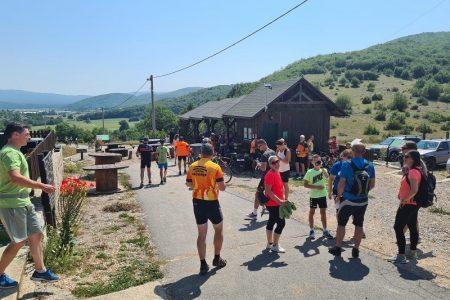 Sudionici biciklijade Gospić 2021.uživali u prirodnim ljepotama ličkog kraja
