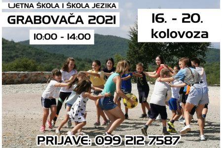 Ljetna škola na Grabovači 2021.