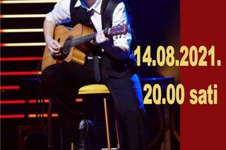 U subotu ne propustite gitaristički koncert Mladena Pašuta u Gospiću