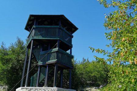 Šumski toranj na Grabovači sada je i osmatračnica za ptice