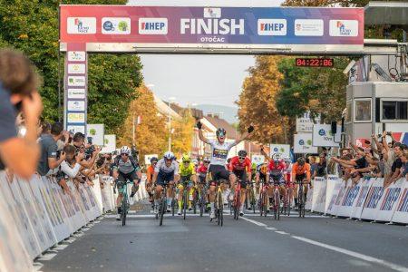 Nizozemac Olav Kooij pobijedio u drugoj etapi biciklističke utrke CRO Race s ciljem u Otočcu