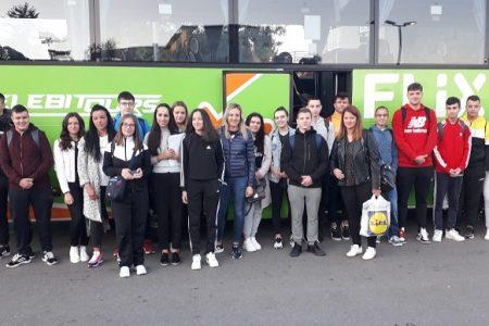 Uoči početka nove školske godine učenici Strukovne škole Gospić otputovali na stručnu praksu u Njemačku