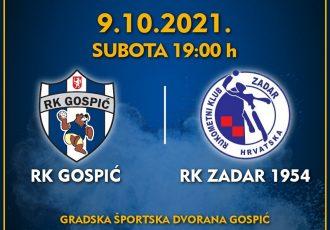 Napunimo tribine sportske dvorane u Gospiću i podržimo naše rukometaše u povijesnom prvoligaškom nastupu